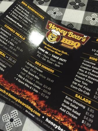 Honey bear's bbq phoenix coupons