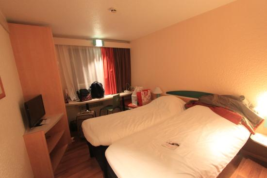 Ibis Gent Centrum St-Baafs Kathedraal: The twin beds