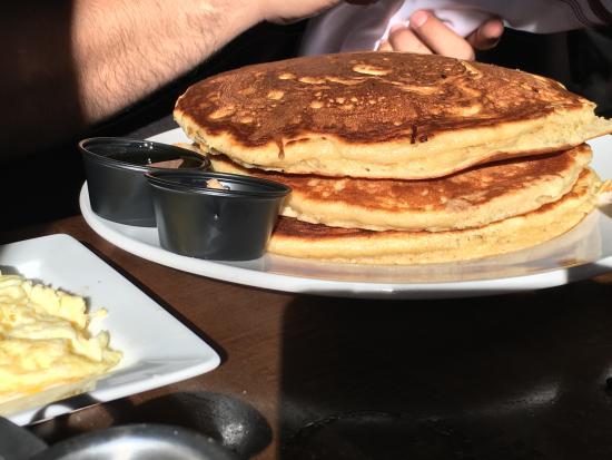 giant pancakes picture of crave kitchen and bar el paso rh tripadvisor com Crave Restaurant El Paso TX Crave El Paso TX