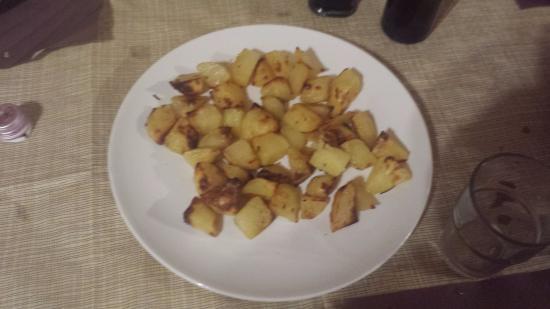 Borghi, Italië: contorno di patate