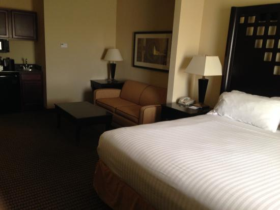 Holiday Inn Express Hotel U0026 Suites Durant: Our Large King Bed Room At HI  Express