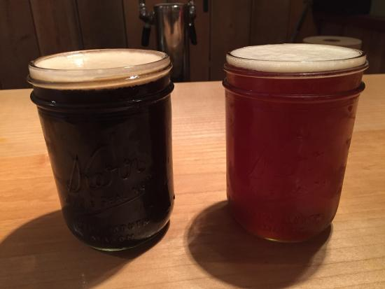 Quilcene, WA: Stout and Honey Brown