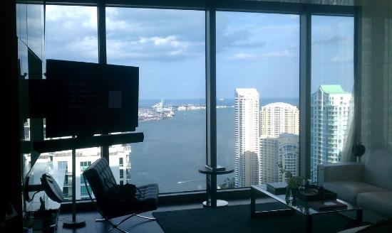 Hotel Beaux Arts Miami: view from our bed