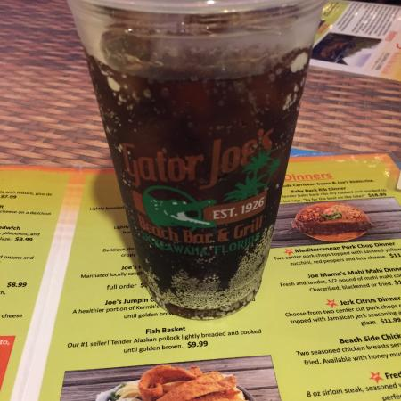 Ocklawaha, Флорида: Drink and menu