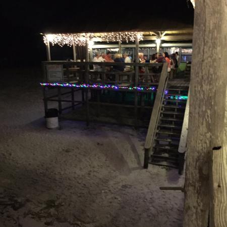 Ocklawaha, ฟลอริด้า: The beach dining room