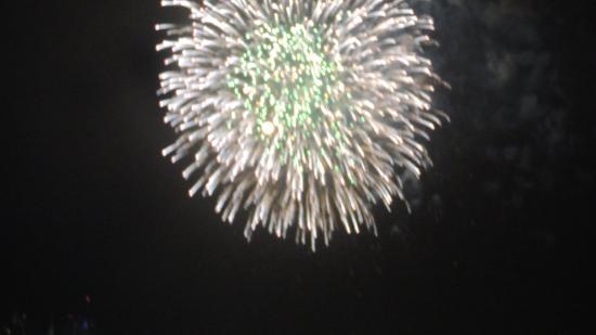 Hyatt Regency Boston Harbor: fireworks