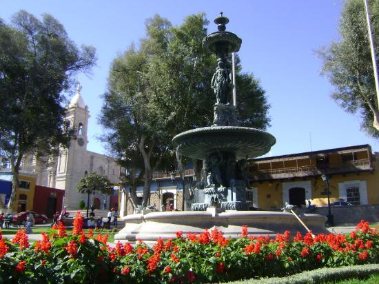 Plaza de Armas: Pileta Eifeld