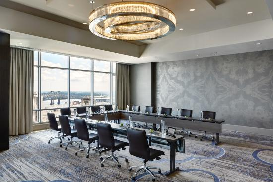 Our meeting room on the 41st floor - Picture of New Orleans Marriott ...