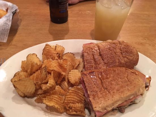 Decatur, IN: Riverview Tavern 'All Meat' Sub sandwich