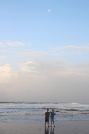 Parque Nacional Tortuguero: Sea view