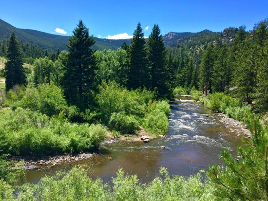 Lake George, CO: Five miles of private rivers