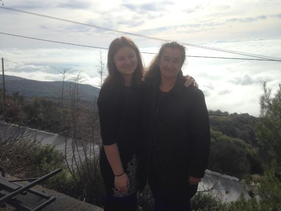 Chrissi Nefeli Traditional Houses: right [host Mrs. Eleni]