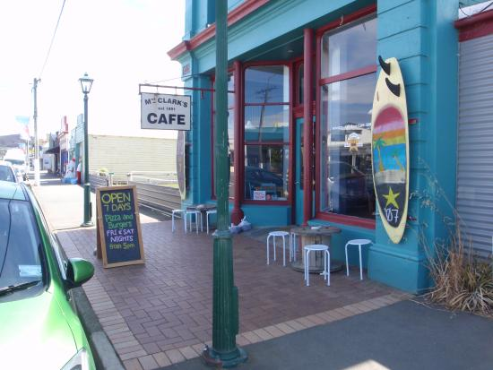 Mrs Clarks @ The Crib Cafe: Mrs Clarks Cafe street frontage...