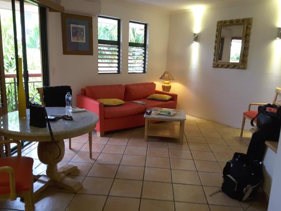 Martinique on Macrossan: Living Room