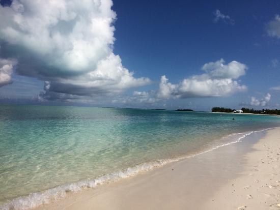 Bahama Beach Club: The beautiful beach!