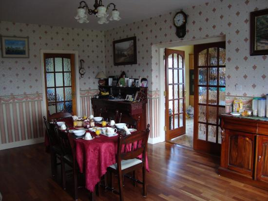 Shanagarry B&B: Dining Room before renovations.