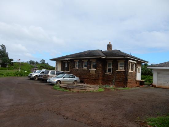 Kilauea, هاواي: guard gate