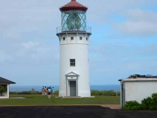Kilauea, HI: can't go in the lighthouse
