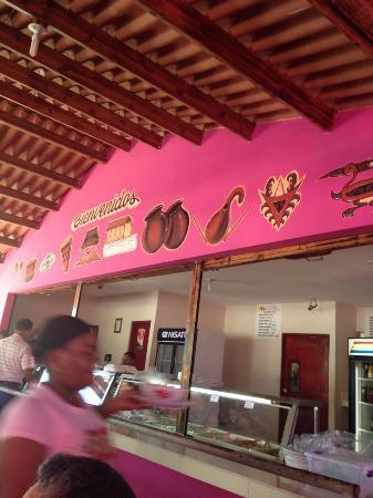 Restaurante Las Uvas: area comida