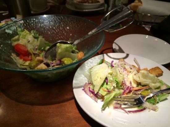 olive garden house salad - Olive Garden Novi