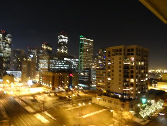 Warwick Denver Hotel: view from my balcony