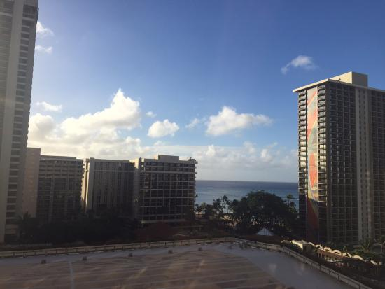 Grand Waikikian by Hilton Grand Vacations: What a view from Room 1403!