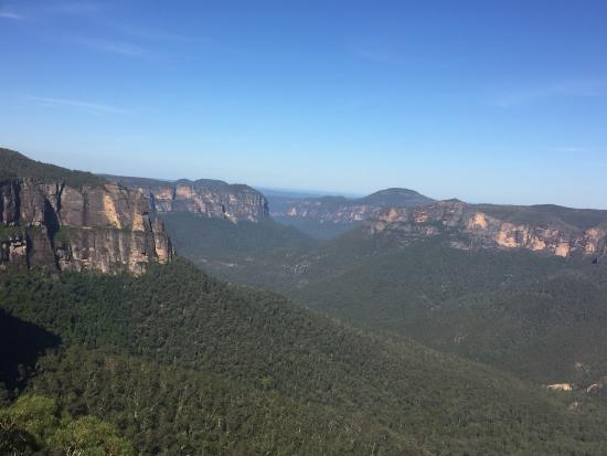 Blackheath, Australie : View from lookout
