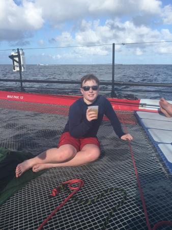 Zatoka Simpson, Sint Maarten: Relaxing!