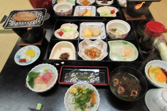 Kaieikan Shachitei : 朝食