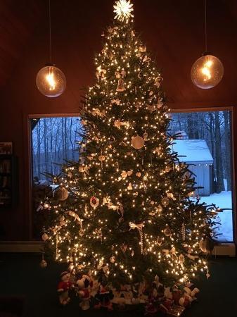 Birch Ridge Inn: The inn decorated for Christmas