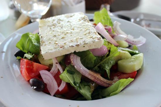 Voulgaro, Grecia: салат