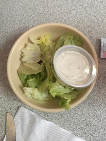 Burkburnett, TX : This is called a salad at Burk Diner