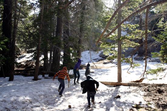 Idyllwild, Californie : Kids having a great time