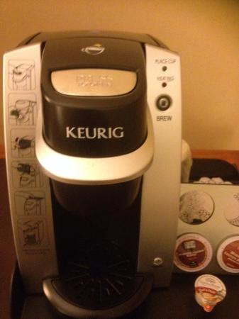 Goleta, Kalifornien: In room coffee machine