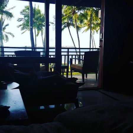 View From Our Ocean Front Room Upper Level Picture Of