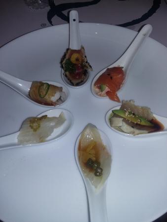 Nick-San: Degustación de Sashimis