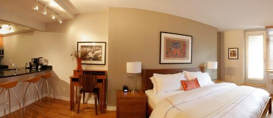Sanctuary NYC Retreats: King Queen Suite (sleeps 5)
