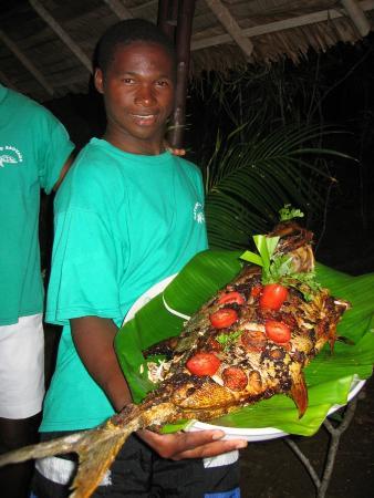 Provincia de Antsiranana, Madagascar: pesce fresco a cena