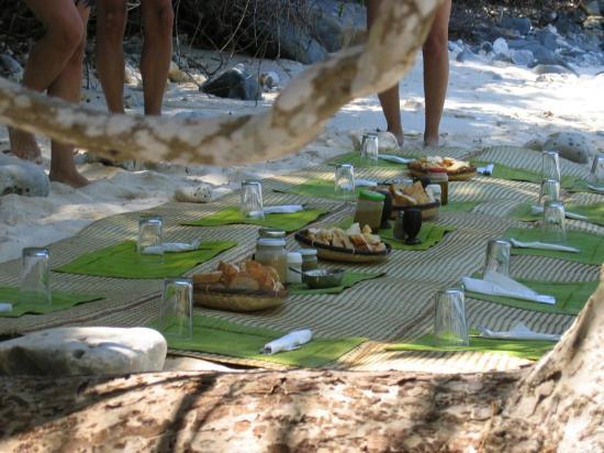 Provincia de Antsiranana, Madagascar: pic nic in spiaggia