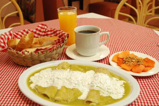 Texcoco, Meksyk: Enchiladas
