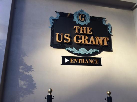 The US Grant: Outside of Hotel