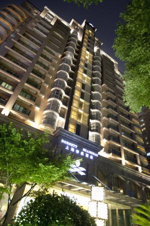 Dorsett Shanghai: Exterior Night View