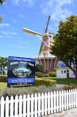 Foxton Windmill: History