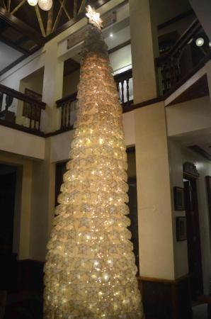 อามาเรลา รีสอร์ท: Christmas tree in common area