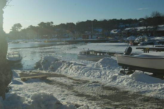 Sandhamn, Suecia: Vinter
