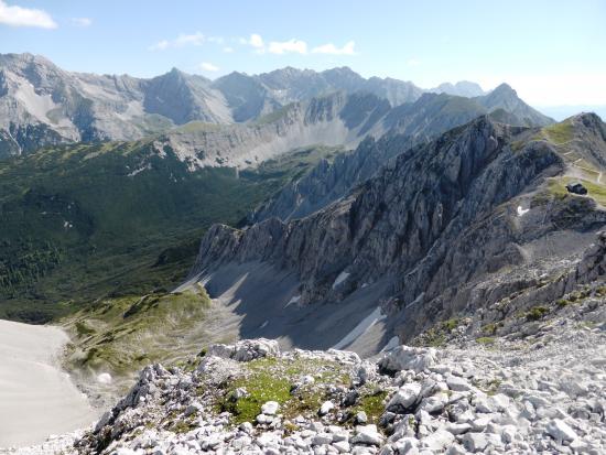 Klettersteig Innsbruck : Gruppe berg fkk tirol in innsbruck baden bergsteigen