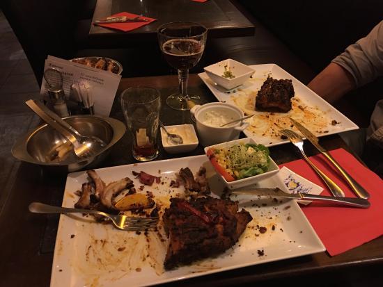 Bornem, Bélgica: 3de ronde, een kwart rib merenquez