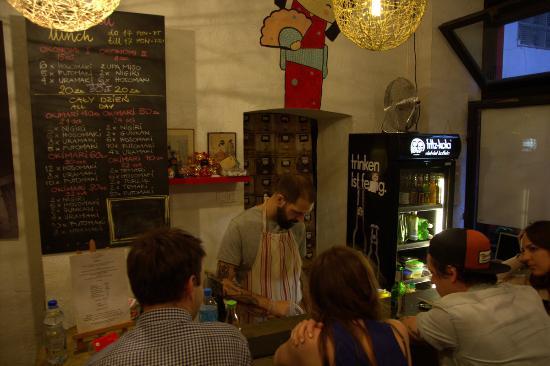 De bar en keuken picture of youmiko sushi krakow tripadvisor