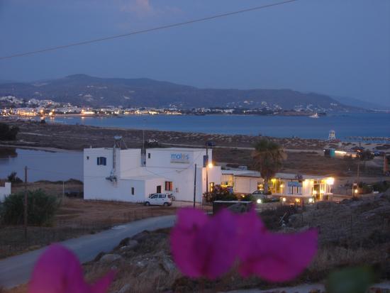 Agios Prokopios, Yunanistan: Taverna Molos view
