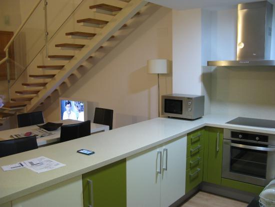 Il piano di lavoro della cucina - Picture of Apartments Edificio ...